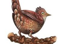 Thimble Folio: Illustrations by Christine Garner
