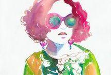 Fashion Illustration that makes me happy