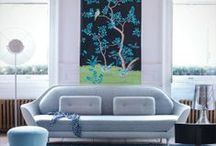 Blue Room Love / Blue is magic  - it instantly makes any space feel bigger and more tranquil.