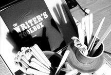 Scrivere: penna, carta & calamaio / Strumenti classici da scrittura, bandito il digitale ;)
