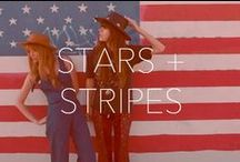 Stars and Stripes / All American. Made in the USA. Celebrate your style freedom. / by AG Jeans