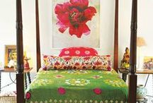 Boho Room Love / I love the boho life and look - these spaces really capture the vibe.