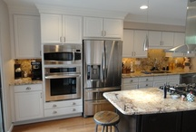 Kristen's Microwave installation examples / Different ways to install your microwave in your kitchen design