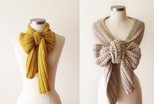scarves & other wear / by Kat Garin