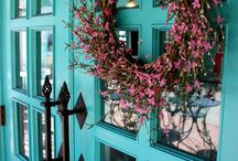 Exteriors / Exterior color schemes and bold color choices for the front door.