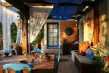 Outdoor Room Love / I live in SoCal, so outdoor living is a 365 affair. Here are some of my favorite looks....
