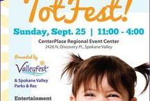 TotFest / Our focus is on the earliest years in children's lives, child care, school, and community programs for ages 0 to 6. Valleyfest will offer information and resources for parents, teachers, as well as others who care for, nurture, and teach young children. We are centering our event to coincide with the Washington State Early Start Act. We will feature outdoor activities, a performance stage with local children's groups, booths and informational classes to develop healthy children.