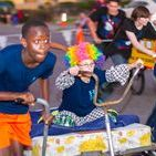 Lions Club Bed Races / The Bed Races are held prior to the Hearts of Gold parade. This Lions Club fundraiser will be a crowd pleaser and bring in laughs as decorated beds-on-wheels and costumed teams of five scramble to the finish line.