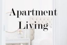 Apartment Living / Inspiration for my first big girl apartment that will be a reality very very very soon / by Allie McCormack {Lusting For Lavish}