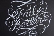 typo / lettering