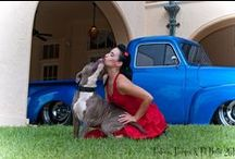 PIN-UPS AND DOGS