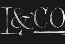 Type & Letterpress