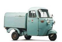 cushmans / small cars-trucks and vans / by David Lambert