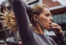 Slide Sport / Slide Sport Earbuds #playinspired Zip-Fit Technology ensures that the earbuds will stay in your ears, no matter how hard the workout.