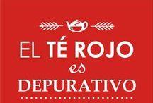 #Plan3Tazas / Tomando tres tazas al día de Té Rojo, conseguirás limpiar tu cuerpo tras los excesos del verano y sentirte más animad@ y saludable!