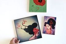 Make your own Prints on Wood.