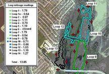 Trail Maps / Maps of trails.