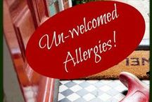 All About Allergies & Absolute Green! / Allergies have you going sideways?!  Our products are FREE of synthetic fragrances!