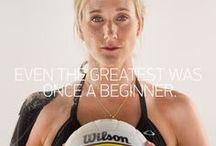 Beach Volleyball Tips / Improve your game. Learn skills, exercises and what to eat.