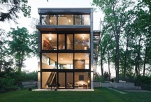 interiors - exteriors / the human imagination inside & out.