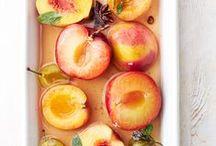 ♨ fruits / Fruit salad, cake, cocktail, foam ► Des fruits en salade, en gâteau, en cocktail, en mousse