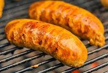 ♨ meat / Pork, beef, lamb, veal ... All meat (except chicken) cooked in all ways: stewed, roasted, barbecued, stewed, steamed, au gratin ... ► Cochon, boeuf, agneau, veau... Toutes les viandes (sauf le poulet) cuisinées de toutes les façons : mijoté, rôti, au barbecue, en sauce, à la vapeur, en gratin...
