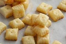 ♨ appetizers, savory snacks & party food / For snack appetizer, small biscuits, crisps, for a picnic, if peckish ► Pour grignoter à l'apéritif, des petits biscuits, des chips, pour un pique-nique, en cas de petits creux