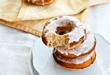 ♨ donuts / donut, fritter, sinker, doughnut