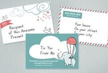 mail bonding / mail art, envelopes