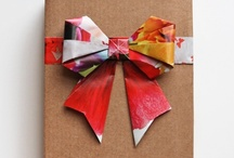 wrap it up / gift wrapping & pretty packages