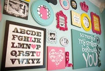 Gallery Wall Ideas / Here is some ideas on filling up those empty wall spaces.