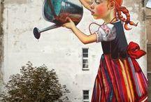 Urban Graffiti Art , Street Art / by Liz I