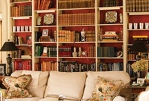 Libraries = Happiness / Definitely my favourite room in the house.