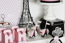 Paris Party Ideas / Who doesn't love Paris? I can't wait to have one of these parties for my little girl! ♥