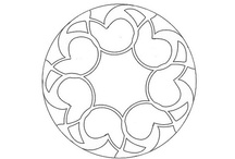 round and round / mandalas and roundels, round drawings, decorations, patterns and illustrations