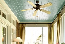 Ceilings / Don't forget the fifth wall. Do something cool and interesting on your ceiling.