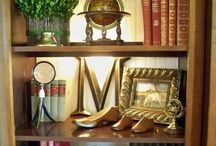 Shelves / How you can display your items beautifully.