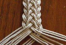 KNOTting and braiding / knots, braids, macrame