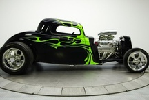 Hot Rods / Hot Rods, Rat Rods etc. / by SimplyEighties.com