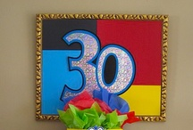 Fabulous 30th Birthday / Yes, 30 and flirty is the very best year ever! Or at least it was for me! Old enough to know better but young enough to do it anyway! Celebrate every moment!
