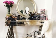 Vanity & Prep / Every girl needs a pretty vanity.