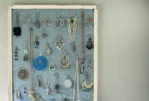 Jewelry organization / These tips have helped me sort through my stash and organize it so I can find everything at a glance.