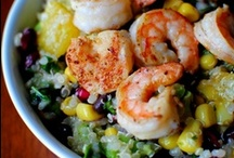 Seafood / I love seafood and can't wait to try these recipes.