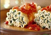 Pasta / A recipe staple.