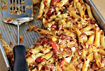 Casseroles / Easy all in one meals.