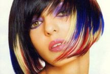 Hair - Wild Colours / Not for everyone but definitely beautiful.