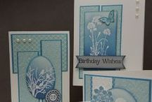 """Stamp:Serene Silhouettes* / These cards feature Stampin' Up's """"Serene Silhouettes"""" stamp set."""