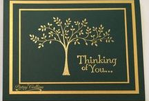 """Stamp:Thoughts & Prayers* / These handmade cards feature Stampin' Up's """"Thoughts and Prayers"""" stamp set."""