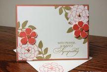 "Stamp:Secret Garden / These cards feature Stampin' Up's ""Secret Garden"" stamp set."