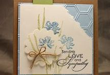 """Stamp:Love & Sympathy* / These handmade cards feature stamps from the """"Love and Sympathy"""" stamp set by Stampin' Up!"""